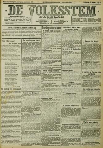 De Volksstem 1915-03-19