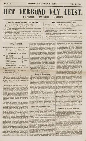 Het Verbond van Aelst 1854-10-29