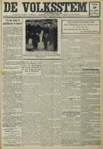 De Volksstem 1931-11-20