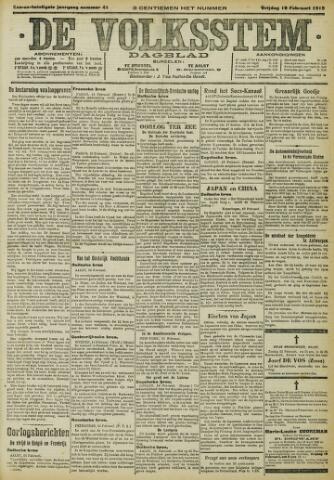 De Volksstem 1915-02-19