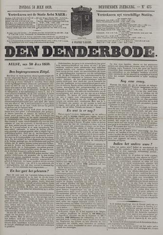 De Denderbode 1859-07-31