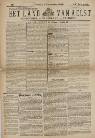 Het Land van Aelst 1888-09-09