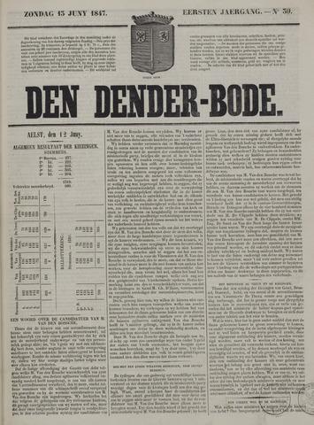 De Denderbode 1847-06-13