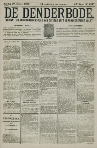 De Denderbode 1888-01-29