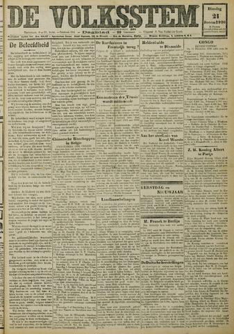 De Volksstem 1926-12-21