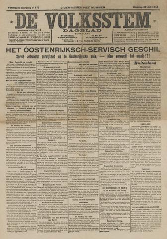 De Volksstem 1914-07-28