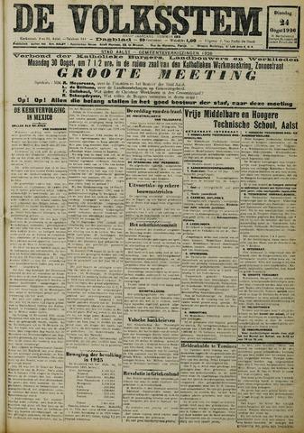 De Volksstem 1926-08-24