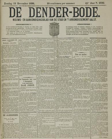 De Denderbode 1890-12-14