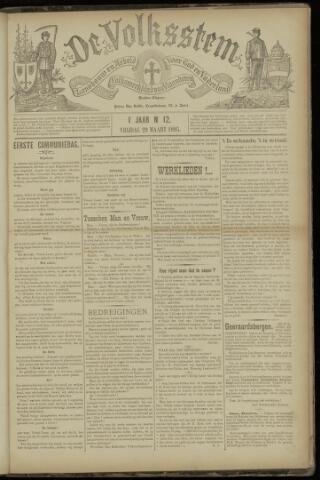De Volksstem 1895-03-29