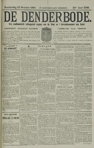De Denderbode 1904-10-13