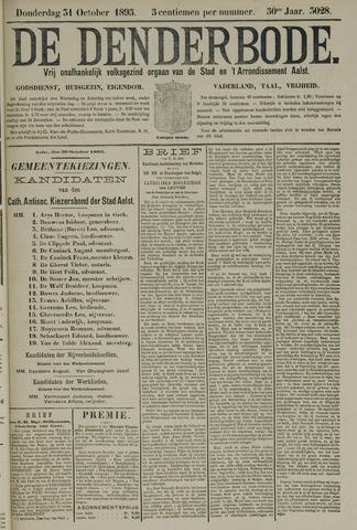 De Denderbode 1895-10-31