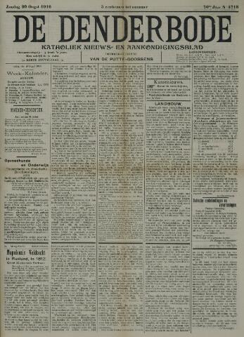 De Denderbode 1916-08-20