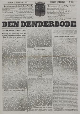 De Denderbode 1857-02-15