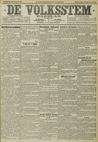 De Volksstem 1914-02-19