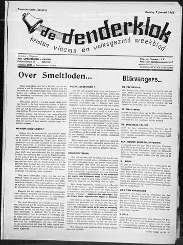 Denderklok 1962