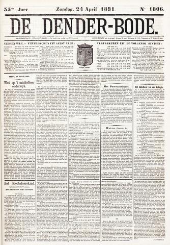 De Denderbode 1881-04-24