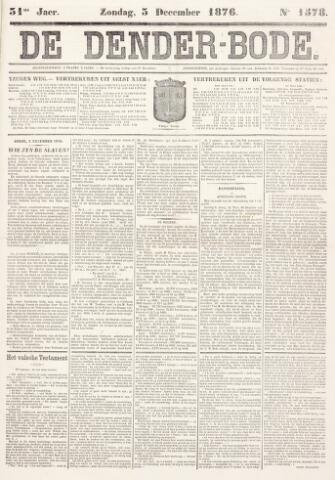 De Denderbode 1876-12-03