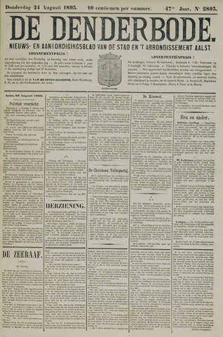 De Denderbode 1893-08-24