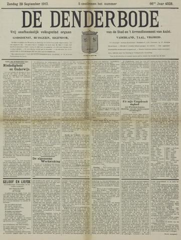 De Denderbode 1912-09-29