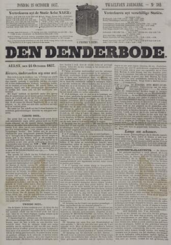 De Denderbode 1857-10-25