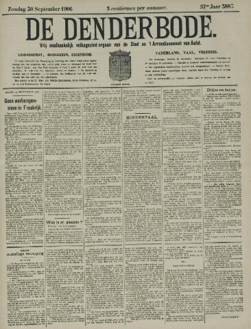 De Denderbode 1906-09-30