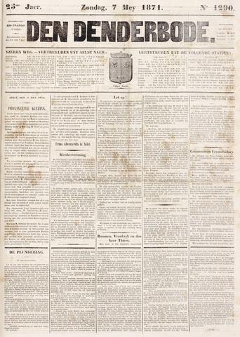 De Denderbode 1871-05-07