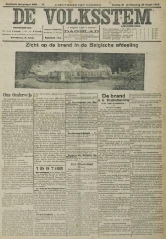 De Volksstem 1910-08-21