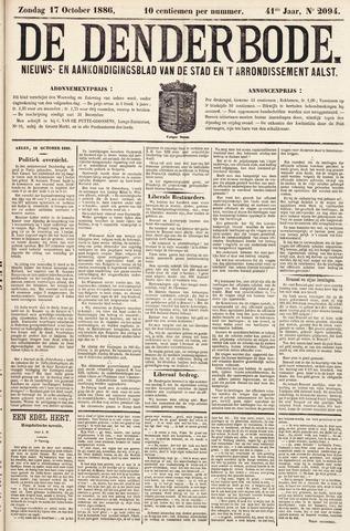 De Denderbode 1886-10-17