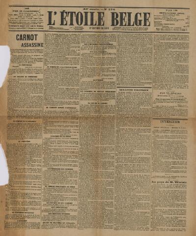 l' Etoile Belge 1894