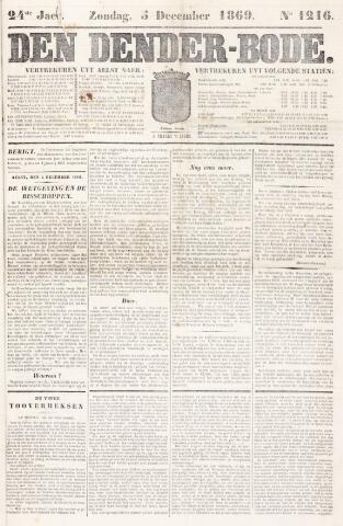 De Denderbode 1869-12-05