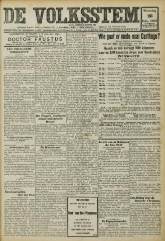 De Volksstem 1930-02-26