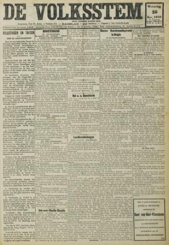 De Volksstem 1930-11-26