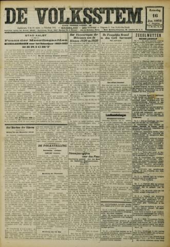De Volksstem 1932-01-16