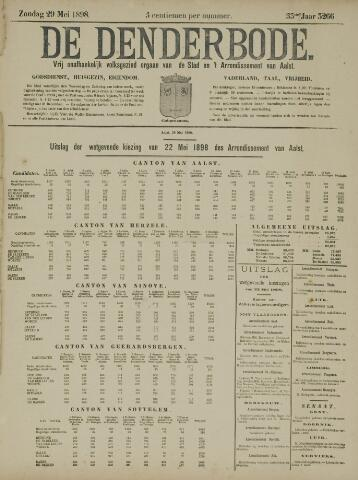 De Denderbode 1898-05-29