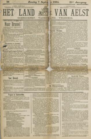 Het Land van Aelst 1884-09-07