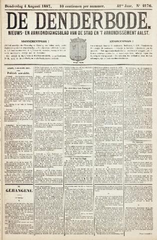De Denderbode 1887-08-04