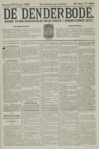 De Denderbode 1888-02-19