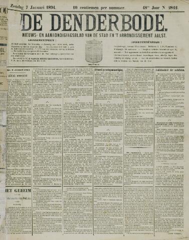 De Denderbode 1894-01-07