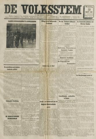 De Volksstem 1938-03-23