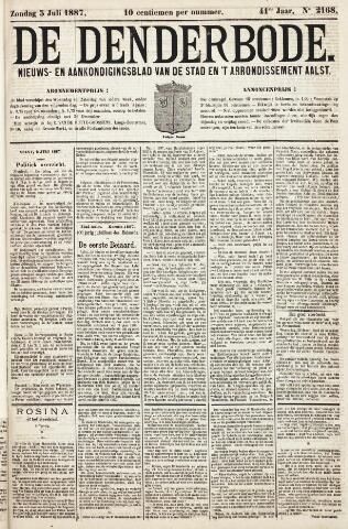 De Denderbode 1887-07-03