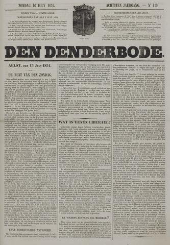 De Denderbode 1854-07-16