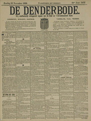 De Denderbode 1896-11-15