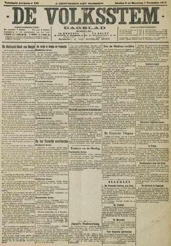 De Volksstem 1914-12-06