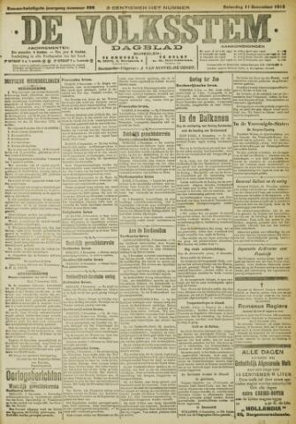 De Volksstem 1915-12-11