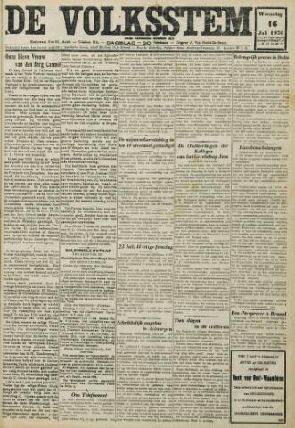 De Volksstem 1930-07-16