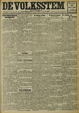 De Volksstem 1923-03-14
