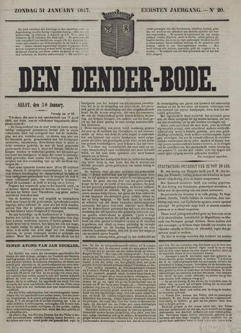 De Denderbode 1847-01-31
