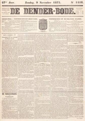 De Denderbode 1873-11-09