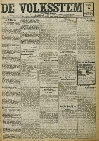 De Volksstem 1930-01-03