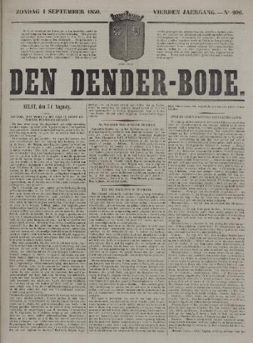 De Denderbode 1850-09-01